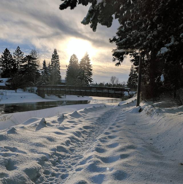 Winter in Bend, Oregon