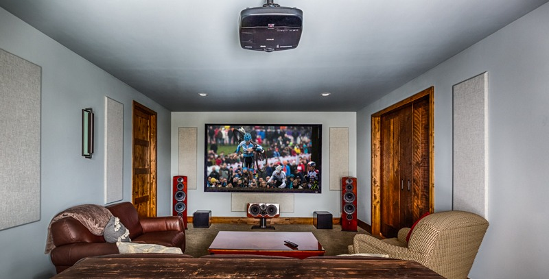 home theater room bend oregon
