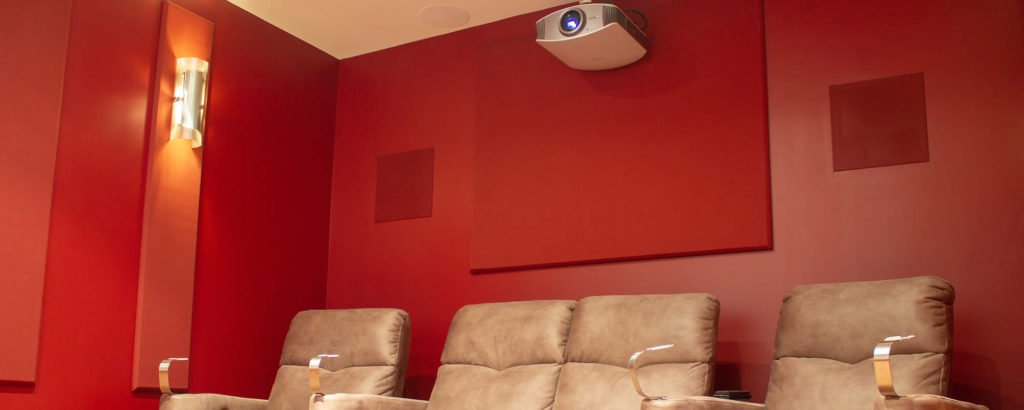 Home Theater, Acoustic Treatments